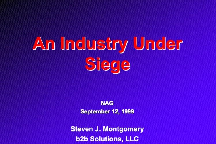 An Industry Under Siege