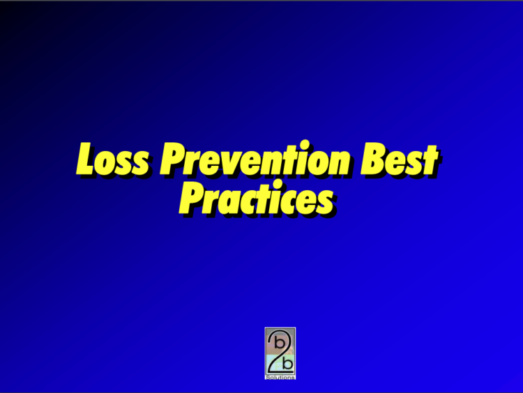 Loss Prevention Best Practices