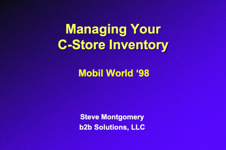 Managing Your C-Store Inventory